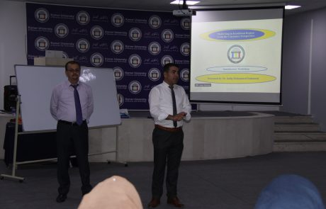 KRC and Business Department Organised a Training Workshop on Marketing and Costumer Services