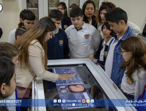 The BIS-Sulaymaniya students visit to the KUST Anatomy Lab